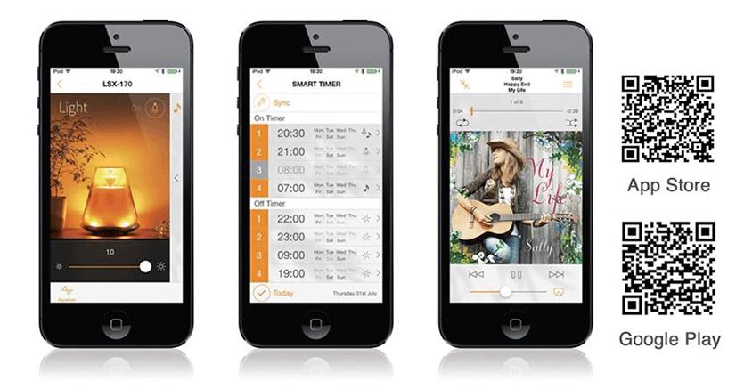 Die App, mit der man den Yamaha-Lautsprecher steuern kann, ist nur nötig, wenn man Funktionen, wie Equalizer oder Timer nutzen möchte. Die normale Musikwiedergabe funktioniert auch ohne diese App (Fotos: Yamaha).