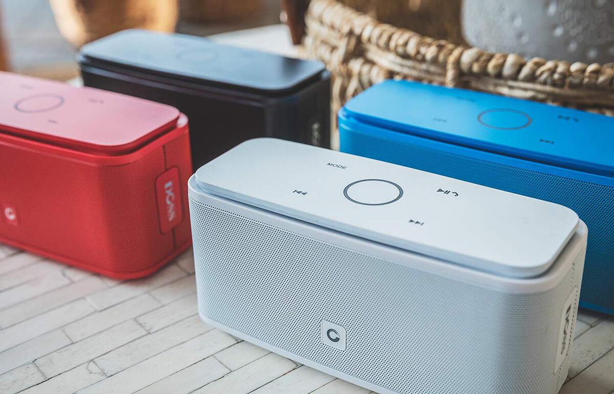 Das meistverkaufte und am besten bewertete Modell ist die DOSS SoundBox, die in vier verschiedenen Farben erhältlich ist (Foto: Doss).
